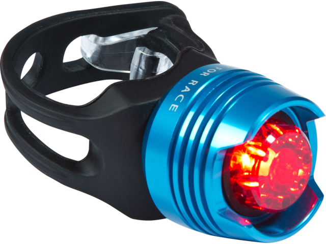 Cube RFR Diamond Safety Lamp red LED blue